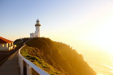 roll out your yoga mat at the beautiful lighthouse